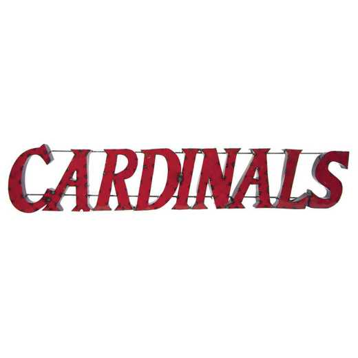 CARDINALSWD: Louisville Cardinals Metal Décor